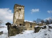 Kostolík pod snehom