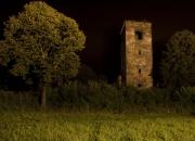 Kostolík v noci