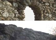 Predný oblúk západného múra - pohľad z exteriéru