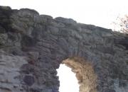 Predný oblúk západného múra - pohľad z exteriéru - po konzervácii