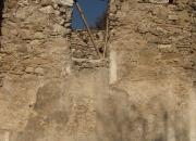 Východný oblúk v presbytériu - po konzervácii so stále stojacím debnením